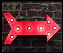 Arrow Bulb Sign 2